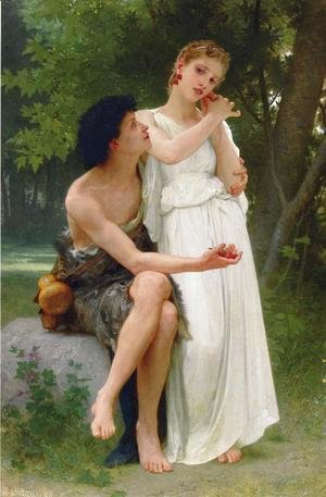 William-Adolphe Bouguereau - Le Premiers Bijoux