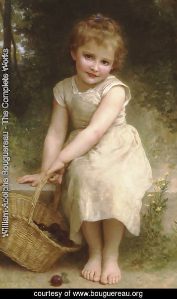 William-Adolphe Bouguereau - Plums