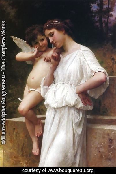 William-Adolphe Bouguereau - Love's Scerets
