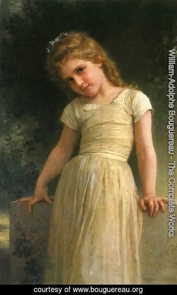 William-Adolphe Bouguereau - Elpieglerie