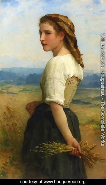 William-Adolphe Bouguereau - Gleaners