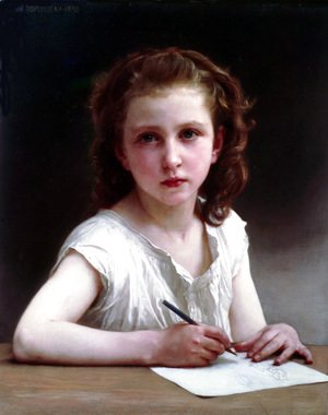 William-Adolphe Bouguereau - Une vocation (A calling) 2