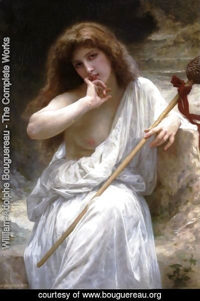 William-Adolphe Bouguereau - Bacchante 2