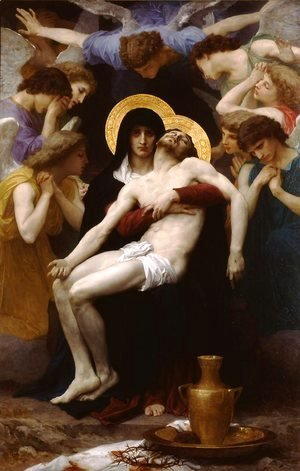 William-Adolphe Bouguereau - Pietà
