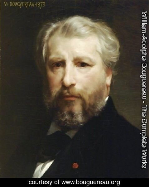 William-Adolphe Bouguereau - Self Portrait