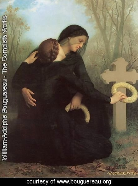 William-Adolphe Bouguereau - The Day of the Dead