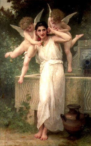 William-Adolphe Bouguereau - L'Innocence