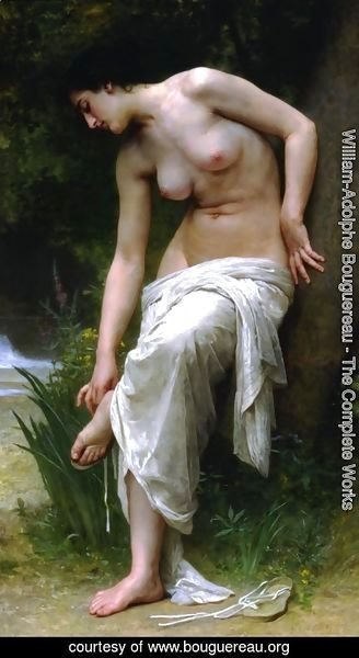 William-Adolphe Bouguereau - After the Bath (1894)