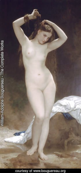 William-Adolphe Bouguereau - Baigneuse [Bather]