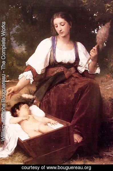 William-Adolphe Bouguereau - Berceuse [Lullaby]