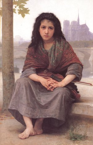 William-Adolphe Bouguereau - Bohémienne [The Bohemian]