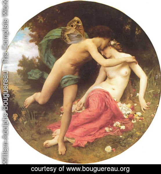 William-Adolphe Bouguereau - Flore et Zephyre [Flora and Zephyr]