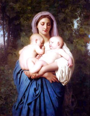 William-Adolphe Bouguereau - La Charité [Charity]