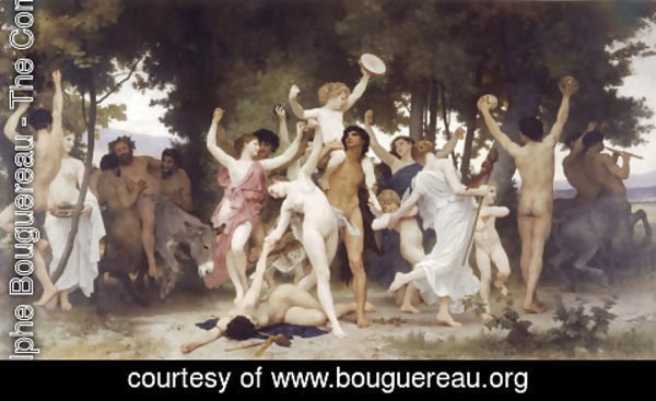 William-Adolphe Bouguereau - La Jeunesse de Bacchus [The Youth of Bacchus]