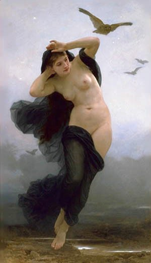 William-Adolphe Bouguereau - La Nuit