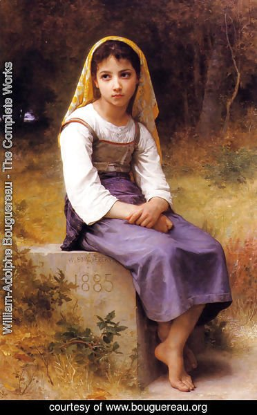 William-Adolphe Bouguereau - Meditation