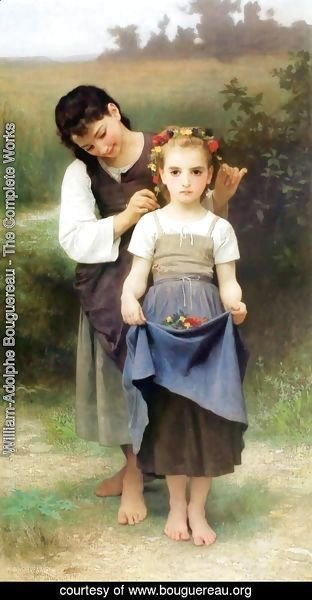 William-Adolphe Bouguereau - Parure des Champs [The Jewel of the Fields]
