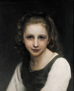 William-Adolphe Bouguereau - Portrait of a Young Girl 2