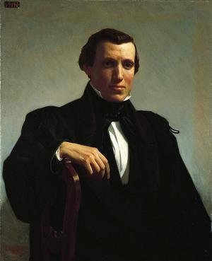 William-Adolphe Bouguereau - Portrait of Monsieur M.