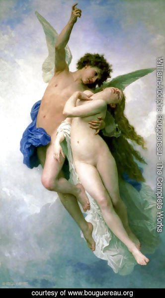 William-Adolphe Bouguereau - Psyche et L'Amour [Psyche and Cupid]