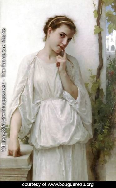 William-Adolphe Bouguereau - Reverie [Revery]