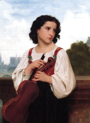 William-Adolphe Bouguereau - Seule-au-monde