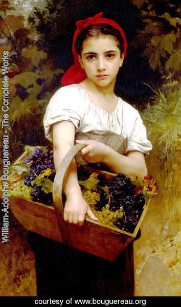 William-Adolphe Bouguereau - Vendangeuse [The Grape Picker]