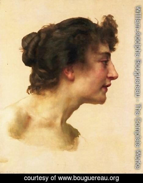 Study of the Head of Elize Brugière