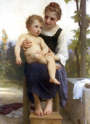 William-Adolphe Bouguereau - After the Bath