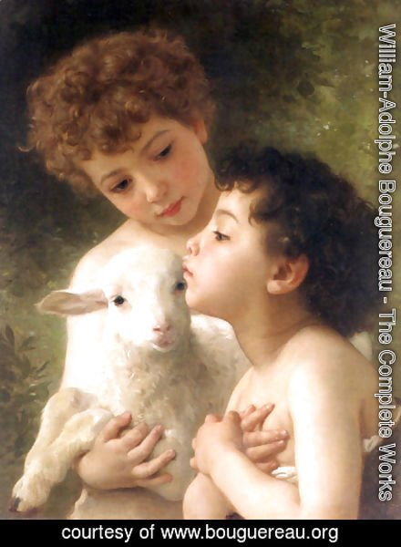 Children With the Lamb (Detail)