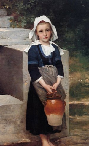 William-Adolphe Bouguereau - Girl by the Well