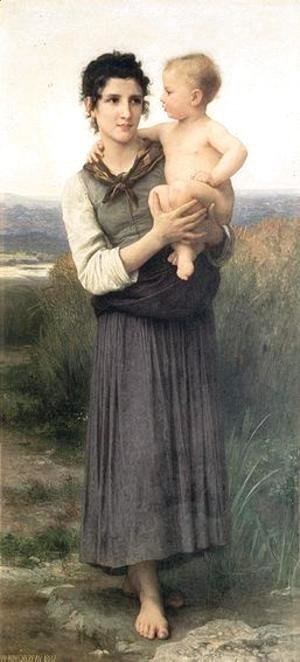 William-Adolphe Bouguereau - Going to the Bath