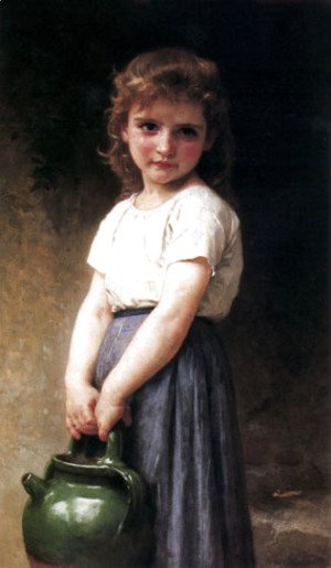 William-Adolphe Bouguereau - Going to the Well