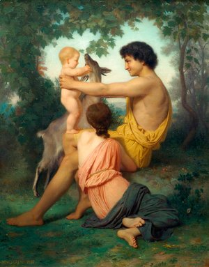 William-Adolphe Bouguereau - Idylle 2