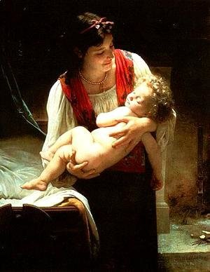 William-Adolphe Bouguereau - Lullaby