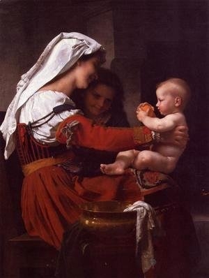 William-Adolphe Bouguereau - Maternal Admiration