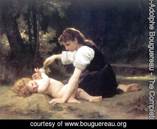 William-Adolphe Bouguereau - Natural Range