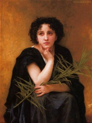 William-Adolphe Bouguereau - Reflection