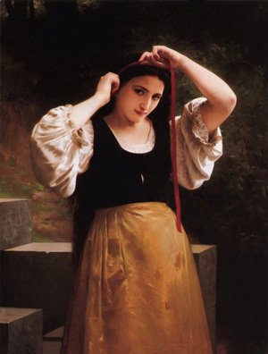 William-Adolphe Bouguereau - Rustic Bath