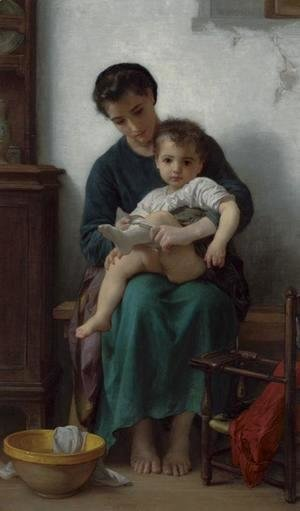William-Adolphe Bouguereau - The Big Sister