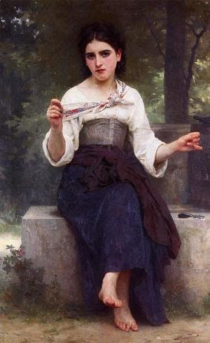 William-Adolphe Bouguereau - The Dressmaker