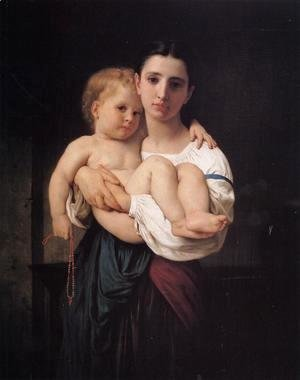 William-Adolphe Bouguereau - The Elder Sister