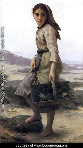 William-Adolphe Bouguereau - The Fisher