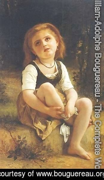 William-Adolphe Bouguereau - The Little Wound