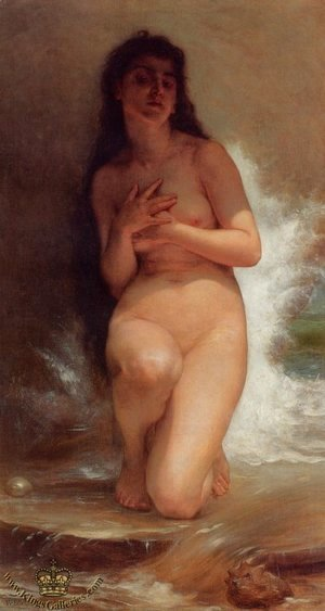 William-Adolphe Bouguereau - The Pearl