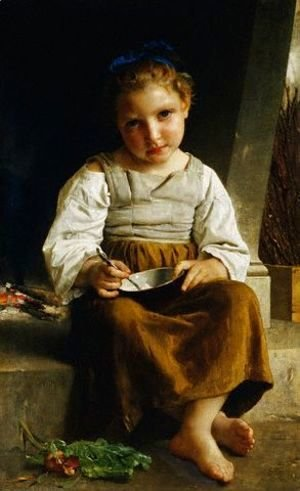 William-Adolphe Bouguereau - The Porridge