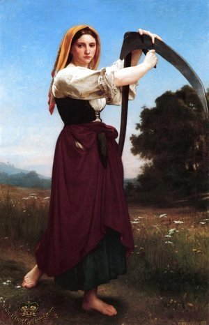 William-Adolphe Bouguereau - The Reaper
