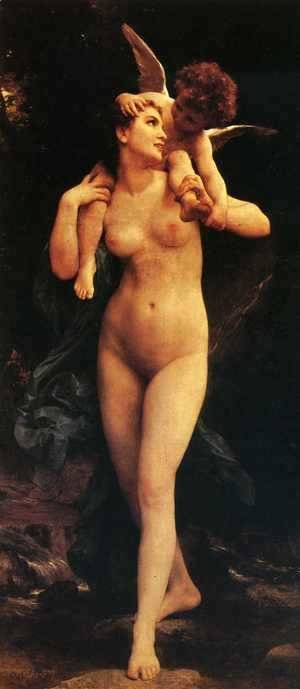 William-Adolphe Bouguereau - Venus and Cupid