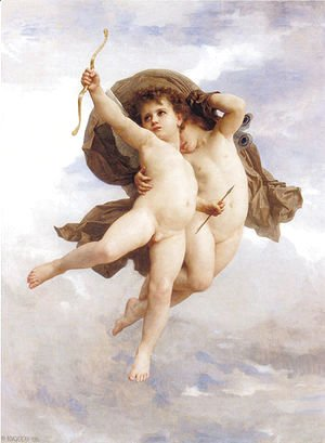William-Adolphe Bouguereau - Victorious Love