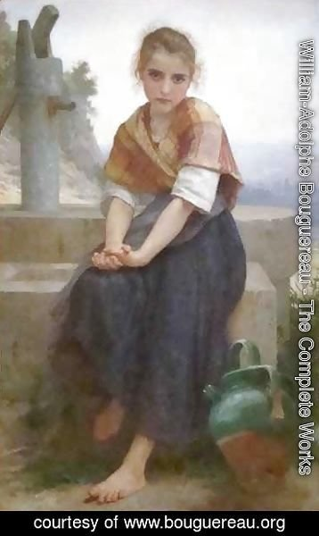 William-Adolphe Bouguereau - The Broken Pitcher